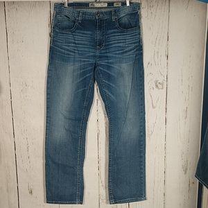 BKE Tyler Straight Leg Jeans 34 Long